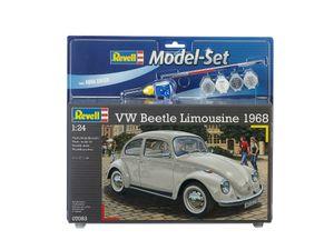 Revell Model Set VW Beetle Limousine - Auto-Modellbausatz; 67083