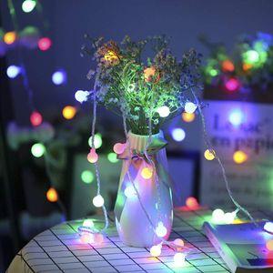 4m 40LED Kugel Lichterkette Batteriebetrieben Inner Außen Weihnachten Party Garten Deko, Bunt