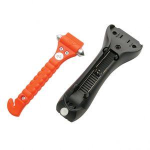 Lifehammer notfallhammer mit Gurtschneider 19 cm orange