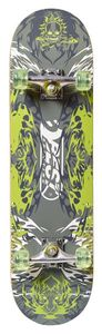 Best Sporting Skateboard, ABEC A5, verschiedene Designvarianten, Design:Green Ghost, Kugellager:ABEC 5