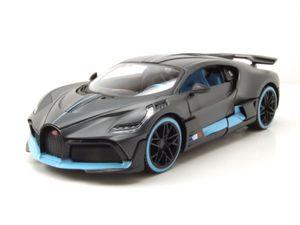Maisto 31526 Bugatti Divo matt dunkelgrau Maßstab 1:24 Modellauto