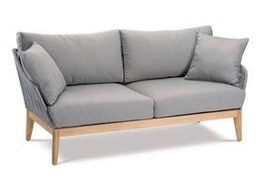 BEST Couch Samos 2-Sitzer Grandis/grau, 52815167 braun