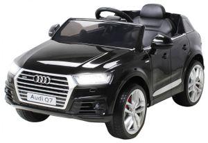 Kinder Elektroauto AUDI Q7 4M SUV Kinderauto Elektrofahrzeug Spielzeug Auto (Schwarz)