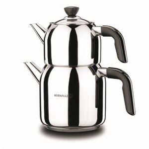 Korkmaz Kappa Mega A079-01 Teekocher Teekanne 3.3 Liter Gesamt Induktion Kocher