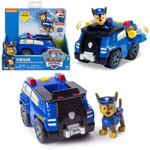 Paw Patrol - Action Fahrzeuge - große Auswahl: Chase - Marshall - Zuma - Rubble - plus Figuren, Motiv:Chase