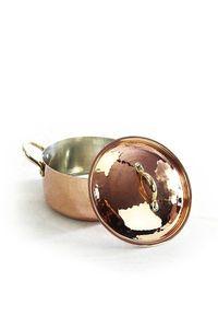 'CopperGarden®' Kupfertopf / Kasserolle 16 cm
