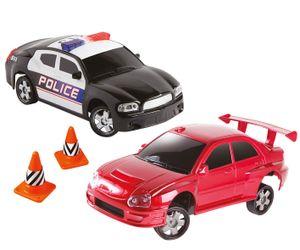 Drift Racer and Police Car