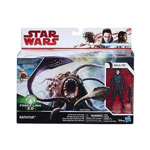 Hasbro Star Wars Force Link 2.0 Rathtar&Bala-Tik Figur Spielset