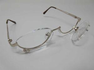 Make-Up Brille für DAMEN +3,5 Schminkbrille Schminkhilfe Kosmetikbrille