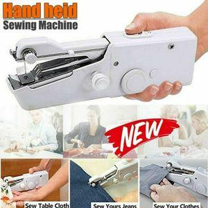 1 set Nähmaschine Elektrische Mini Handnähmaschine Nähen Stitch Werkzeug Tragbare
