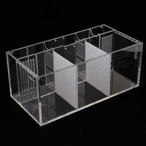 Aquarium Fisch Isolation Box Zuchttanks Züchter Box Transparent