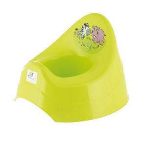 Bieco Töpfchen für Kinder mit Musik & Zebra Motiv | Babytopf | ab 8 M bis ca. 3 J | WCKlo | Kindertoilettensitz | Kindertopf | Toilettentrainer | Klositz Kinder Klositz | Nachttopf für Kinder