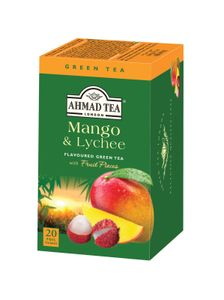 Ahmad Tea - Mango & Litschi Tea - 20 FOILIEN Teebeutel