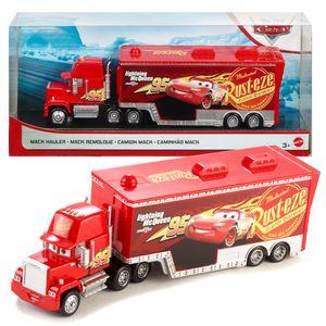 Hauler Mack Truck | Disney Cars | Spiel Set Transporter | Mattel GLM32