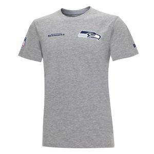New Era NFL SEATTLE SEAHAWKS Established Number T-Shirt, Größe :XL