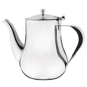 Arabische Edelstahl Kaffeekanne 1 L