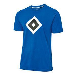 "HSV T-Shirt  ""Raute blau""  Gr. 3XL   Hamburger SV"