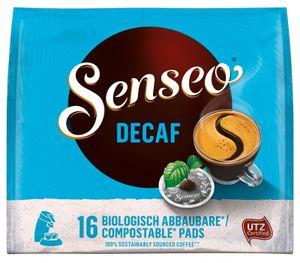 Senseo, Kaffeepads, Entkoffeiniert, 16 er, 111 g, UTZ