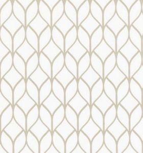 Klebefolie - Möbelfolie Hanna Ornamente weiß Nachbildungfolie 45 cm x 200 cm