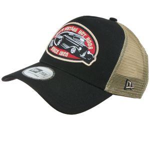 New Era - Hot Rod Trucker Pack Snapback Cap - Schwarz-Gold : Schwarz-Gold One Size