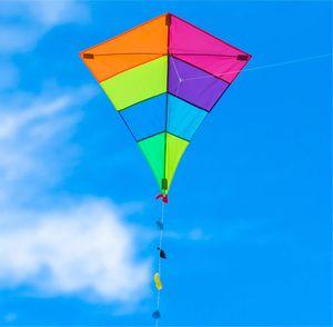 TK Gruppe Timo Klingler Drachen 65x74 cm als Flugdrachen mit Drachenleine für Kinder ab 3 Jahren - Flugspielzeug Drachenflieger Einleiner Kinderdrachen…