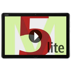 "Huawei Mediapad M5 Lite 4GB 64GB WIFI 10.1"" Grau inkl.  Schutzhülle"