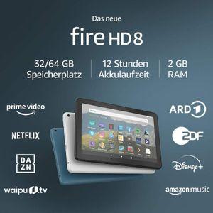 Amazon Fire HD 8 32GB BLACK, Farbe:Schwarz