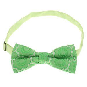 Herren-elegante Königsblau Bowtie Hochzeit Partei Krawatte Einstellbar Grün