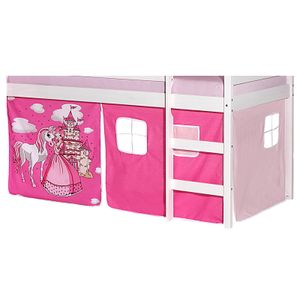 Vorhang PRINZESSIN, in pink/rosa