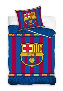 FC Barcelona - Wende-Bettwäsche-Set, 135x200 & 80x80 cm, FCB Fußball