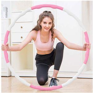 Hula Hoop Reifen Fitness für Erwachsene zur Gewichtsabnahme (auch für Anfänger)