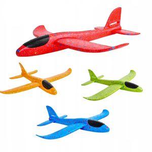 4 Stuck 38 cm Handwurf Schaum Flugzeug Flugzeug Modell Segelflugzeug 2 Modi, Sortierte Farbe