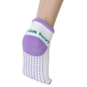 Paar Rutschfeste Yoga Pilates Socken Socke Mit
