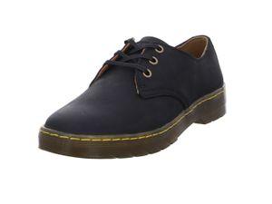 Dr. Martens - do WYOMING Black 16592001 3-Loch Schuhe Leder Herren Business Größe 40 (UK 6.5)