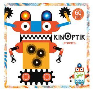 Djeco Kinoptik Roboter optische Täuschungen magnetisch ab 6 Jahren