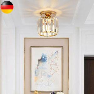 Moderne Kristall Kronleuchter, Deckenleuchte, feine Kristall-Deckenleuchte für die Küche, Schlafzimmer, Küche und Restauran