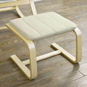 SoBuy® Fußhocker zum Abstützen, Sitzhocker, Sitzwürfel für Relaxsessel, FST38-W