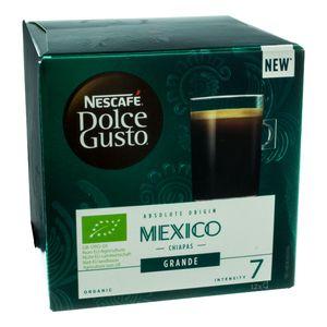 Nescafé Dolce Gusto Absolute Origin Mexico Chiapas Grande, Kaffee Kapsel, Kaffeekapsel, Röstkaffee, 12 Kapseln