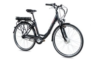 28 Zoll E-Citybike CHRISSON E-LADY 7G Shimano Nexus ANANDA schwarz matt