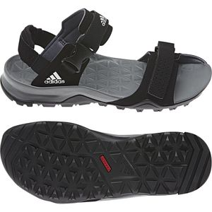 adidas Cyprex Ultra Sandal II Herren Sandalen Schwarz B44191, Größenauswahl:46