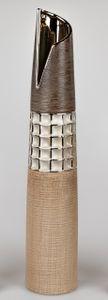 Formano - Bodenvase 60cm Creme-braun
