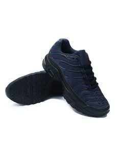 Bequeme Herren-Sneaker Mit Dicken Sohlen Rutschfeste Offroad-Schuhe Schweißabsorbierende Sneakers,Farbe: Blau,Größe:43