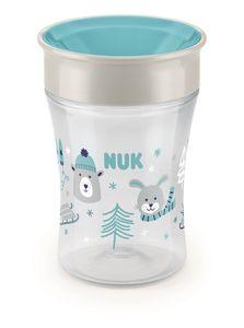 NUK 10255365 Magic Cup 230 ml, neuartiger Trinkrand, abdichtende Silik