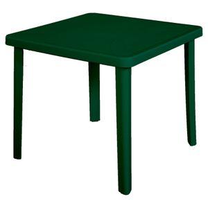 Munduku Tisch Nettuno, 80x80 cm, grün