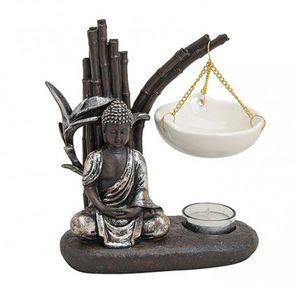 Fernöstliche Duftlampe Buddha 20 cm Feng Shui Aromalampe Duftöl