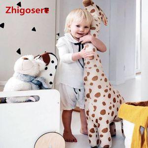 Niedliche Plüsch Giraffe Puppe Riese Große Kuscheltiere Weich für Kinder Spielzeug 67 CM