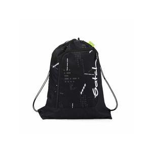 Satch Sportbeutel, Ninja Matrix, Farbe/Muster: black, reflective