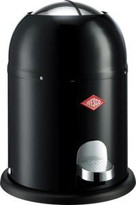 Wesco -  Singlemaster Mülleimer, Farbeauswahl:schwarz