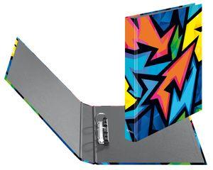 herlitz Ringbuch maX.file A4 Neon Art