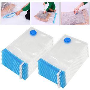 Yaheetech 20 X Vakuumbeutel Aufbewahrungsbeutel Vacuum Vakuum Beutel für Betten / Kleidung